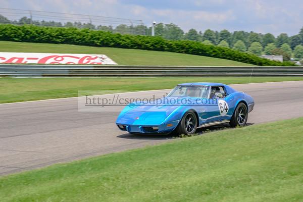 MH 64 Blue Corvette