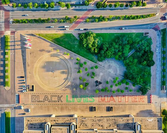 Dallas City Hall BLM