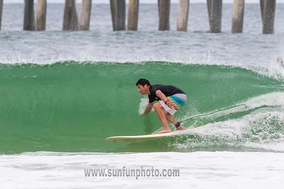 Surfing Tropical Storm Alberto Panama City Beach May 2018