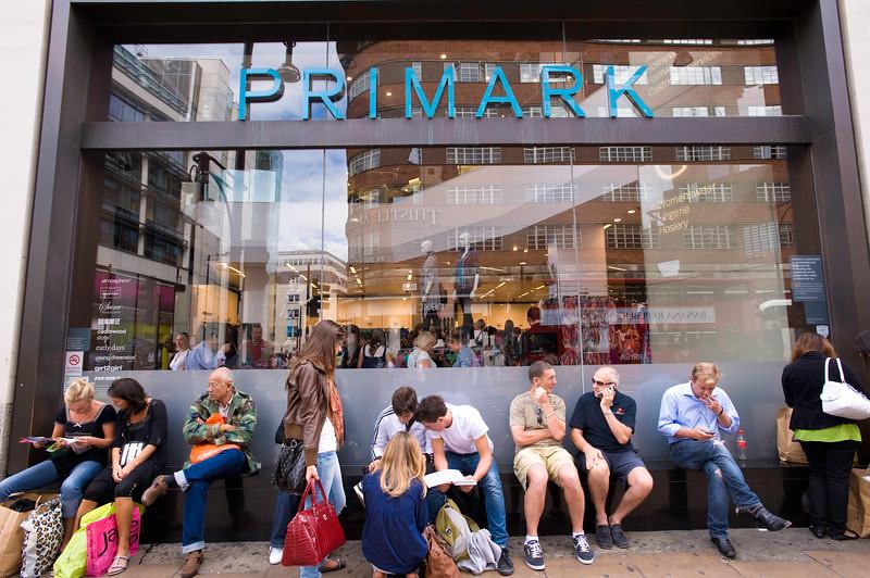 Primark department store, Oxford Street, London, United Kingdom