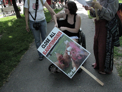 Toronto March to Close Down All Slaughterhouses