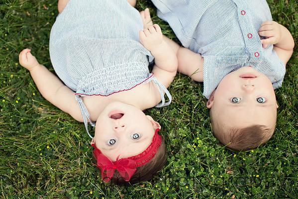 Jack & Evelyn: 5 Months