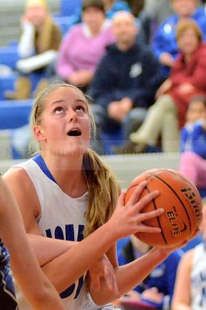 Lampeter-Strasburg Girl's Varsity Basketball v. GS 2.4.14 (4th quarter)