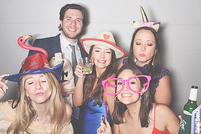 4-17-21 Atlanta The Carlyle Venue Photo Booth - Smith - Childers Wedding - Robot Booth