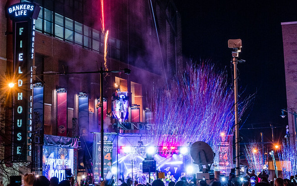 New Years - Georgia Street, Indianapolis