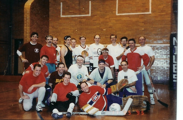 Floor Hockey Group Pictures