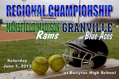 2013 Granville versus Madison (06-01-13) REGIONAL CHAMPIONSHIP