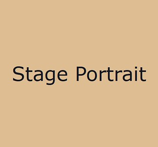 Stage Portrait