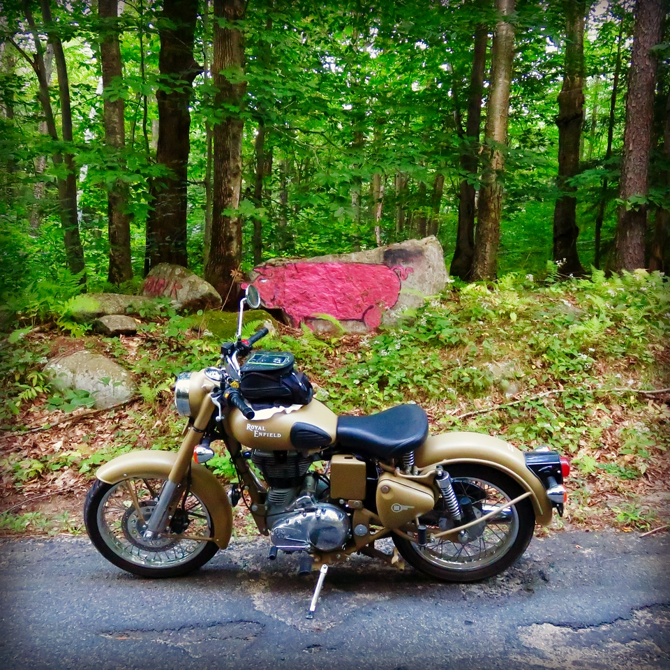 royal enfield pig rock granville massachussetts