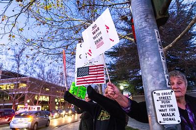 Anti War Rally in Mountain View