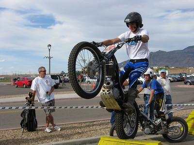 NMTrialsport Trials Demo at R&S Bike Night  6-11-09