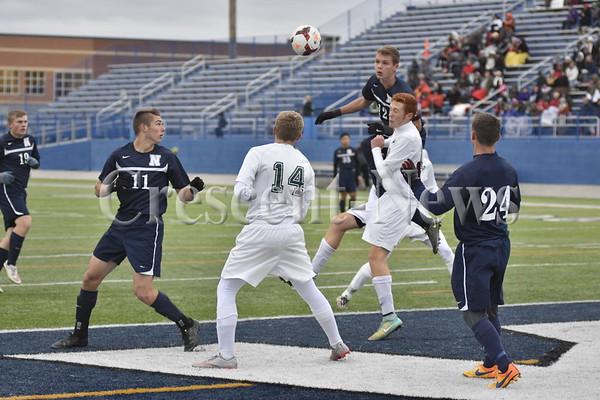 10-29-15 Napoleon vs Oak Harbor Dist Finals Boys Soccer