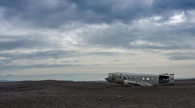 Plane Wreck DC3 on Iceland