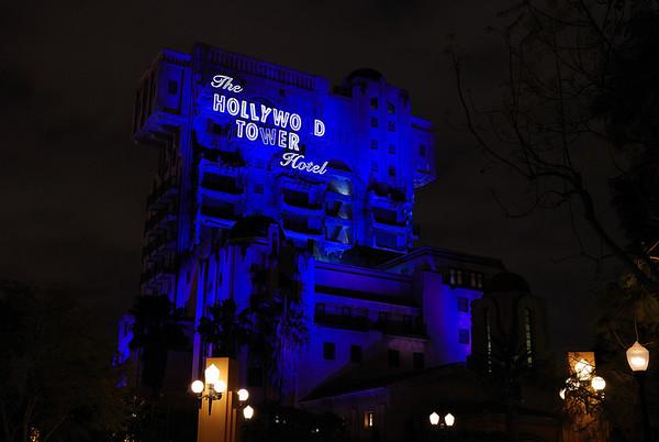 Disneyland Night Escape - 4.08.08