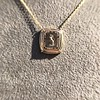 'Joys I Double, Sorrows I Divide' 18kt Rose Gold Cast Pendant, by Seal & Scribe 10