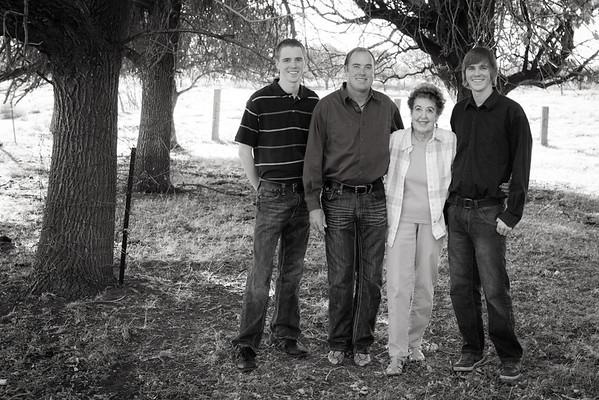 Lemon Family at the Farm