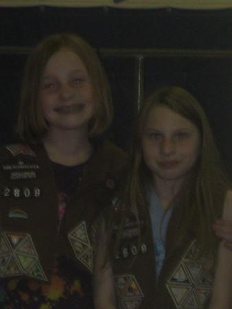 Karisa Girl Scout Bridging 2011