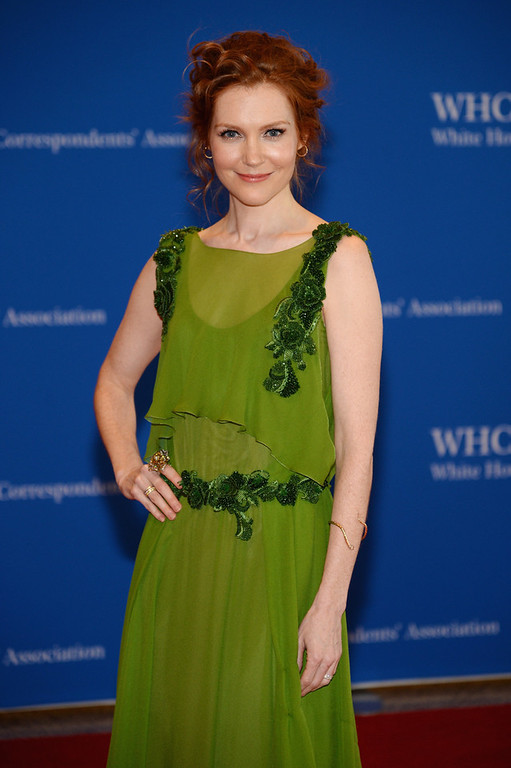 . Actress Darby Stanchfield attends the 100th Annual White House Correspondents\' Association Dinner at the Washington Hilton on May 3, 2014 in Washington, DC.  (Photo by Dimitrios Kambouris/Getty Images)