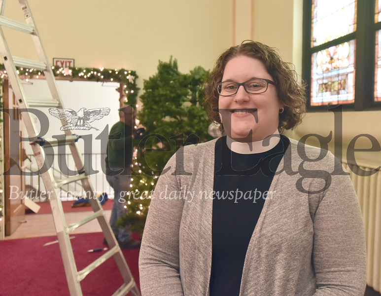 35712 The Rev. Leigh Benish is installed Sunday as new pastor Hill United Presbyterian Church