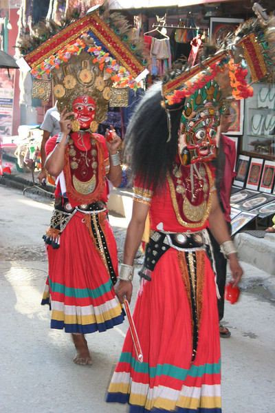 street festivities. i never figured out what the occasion was. kathmandu edit