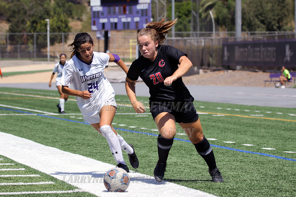 W SOCCER vs. Whittier 9-14-19