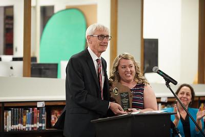 2018 UWL Spring Alumni Maggie McHugh Middle School Teacher of the Year