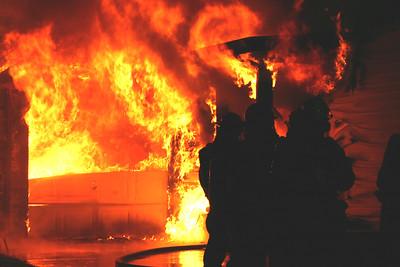 House Fire 1116 N. Delrose (7/4/06)