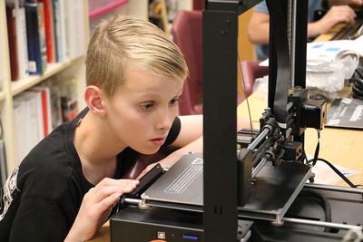 Summer Camp - 3D Printing 6-18-18