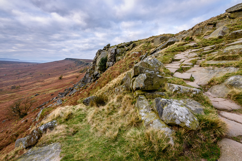 Stanage Edge, Peak District, UK