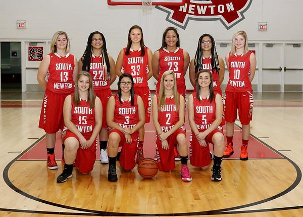 SNHS Girls Basketball Team 2015