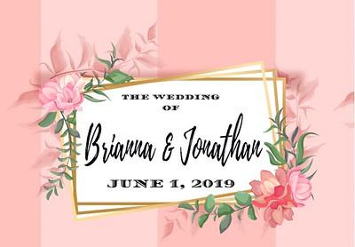 Brianna & Jonathan's Wedding!