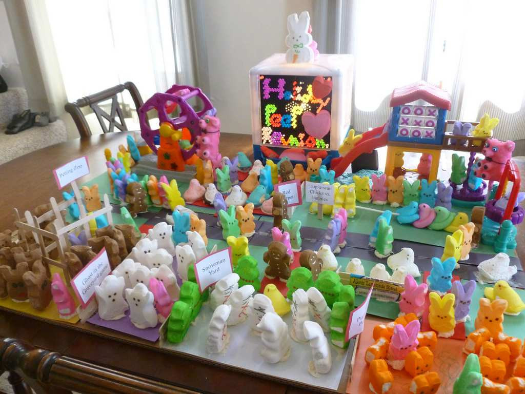 """. \""""Holiday Peeps Reunion,\"""" by Gretchen Gifford of Hastings"""