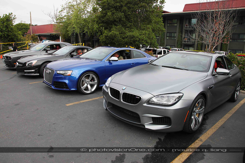 BMW M6 impresses everyone the most.