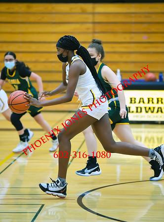 1-26-2021 - Goldwater vs Peoria - Girls Basketball