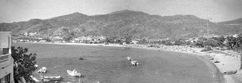 Milopotas beach in Ios, Greece (August 1999)
