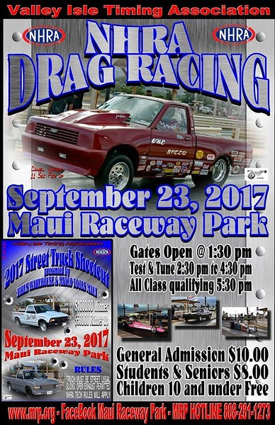 Maui Drags ~ September, 2017