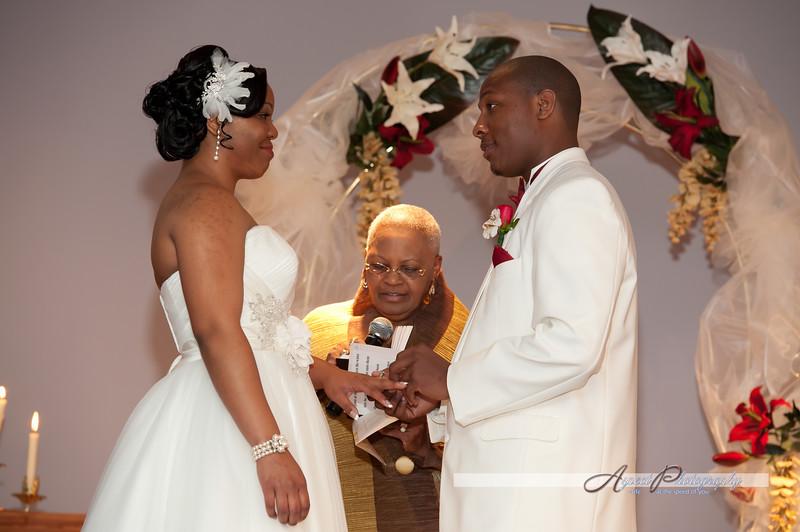 Leslie & Tony wedding ceremony