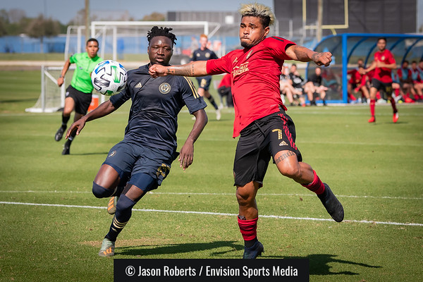 2020-01-29 - Atlanta United FC v. Philadelphia Union (MLS Preseason)