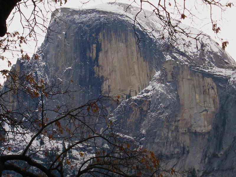 YOS-121201-0001 Half Dome in late Fall