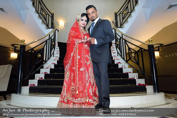 Shafin & Saiqa's Wedding, Epping Club
