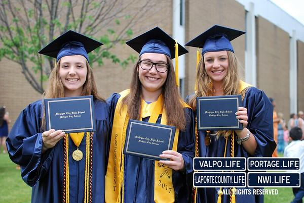 Michigan City High School Graduation 2017