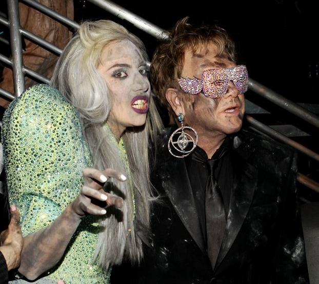""". <p>4. LADY GAGA <p>If Elton John says you�re a hot mess, that IS saying something. (unranked) <p><b><a href=\'http://pagesix.com/2013/09/16/elton-miley-a-meltdown-waiting-to-happen/\' target=\""""_blank\""""> HUH?</a></b> <p>     (Christopher Polk/Getty Images)"""