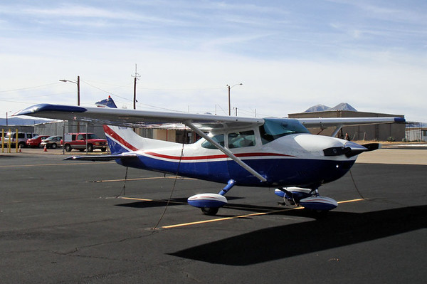 Cessna 172L Skyhawk [1970] N7855G Casparis Airport, Alpine, Texas - December 2009