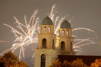 Photos: Illegal fireworks fill the skies over Oakland