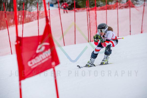2018 Cranmore NHARA U12 & U14 Division Qualifier Giant Slalom