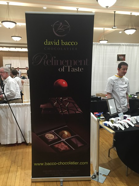 The best chocolatier at the show.