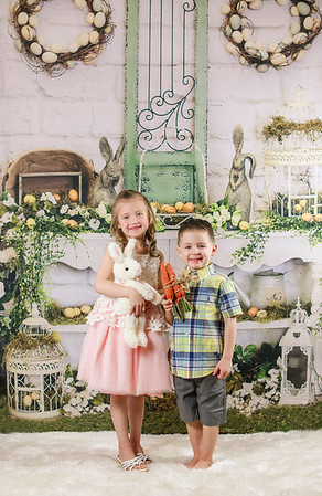 Easter Kids 2018 Addison and Brody