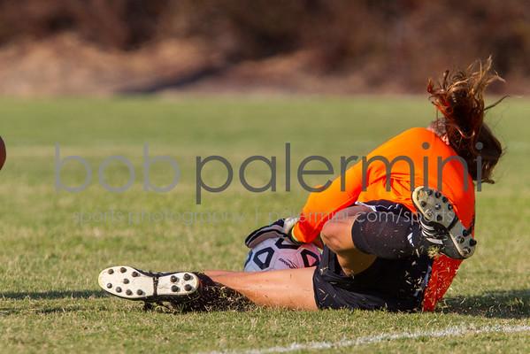 Oxy Women's Soccer vs Pamona Pitzer 9-26-12