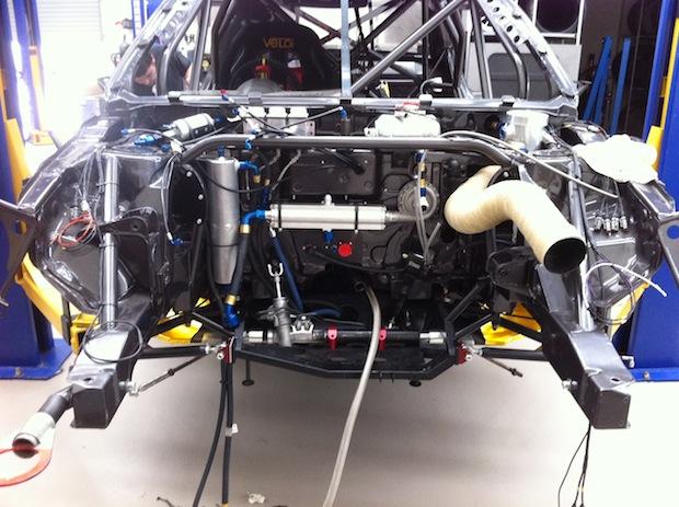 nemo evo engine bay