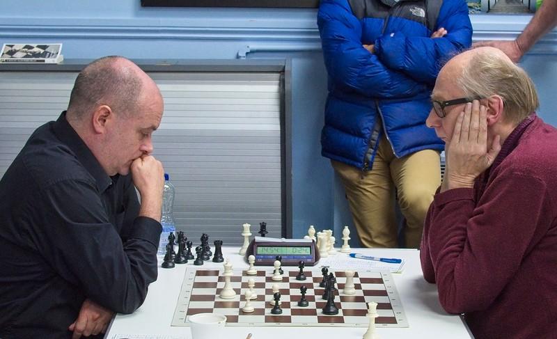 Last Round: Arkell v Beaumont ½-½